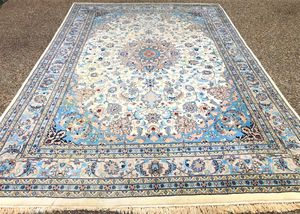 PERSIAN ISFAHAN HAND KNOTTED RUG – 8.11 x 12.7 for Sale in Glen Allen, VA
