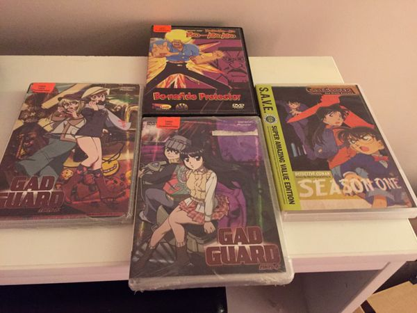 Anime DVD collection variety