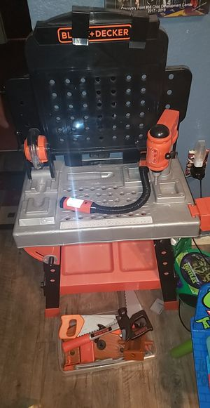 Kids tool bench with tools for Sale in Weeki Wachee, FL