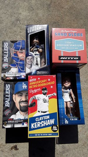 Dodgers bobbleheads for Sale in Lakewood, CA