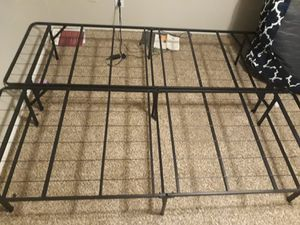 Brand new Linespa 14 inch Folding Metal Platform Bed Frame - Queen size for Sale in Arlington, TX