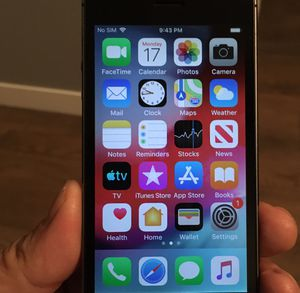 iPhone 5s 16gb factory unlocked for Sale in West Valley City, UT
