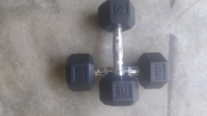 🏋️♂️💪10 LBS PAIR DUMBBELLS 🏋️♀️💪 for Sale in Kennesaw, GA