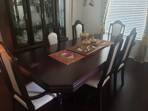 Dinning table Set with the cabinet for Sale in Houston, TX