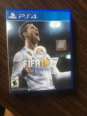 Fifa 18 ps4 for Sale in Knoxville, TN