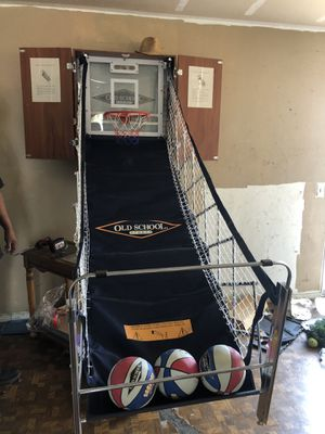 Old School Sports Basketball Hoop Cabinet Foldable for Sale in Rowland Heights, CA