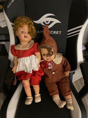 2 antique dolls. Very nice. for Sale in Mountlake Terrace, WA