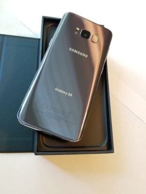 Samsung Galaxy S8. Excellent New Condition. Unlocked, Usable Any Company sim Card. Any Country international for Sale in VA, US