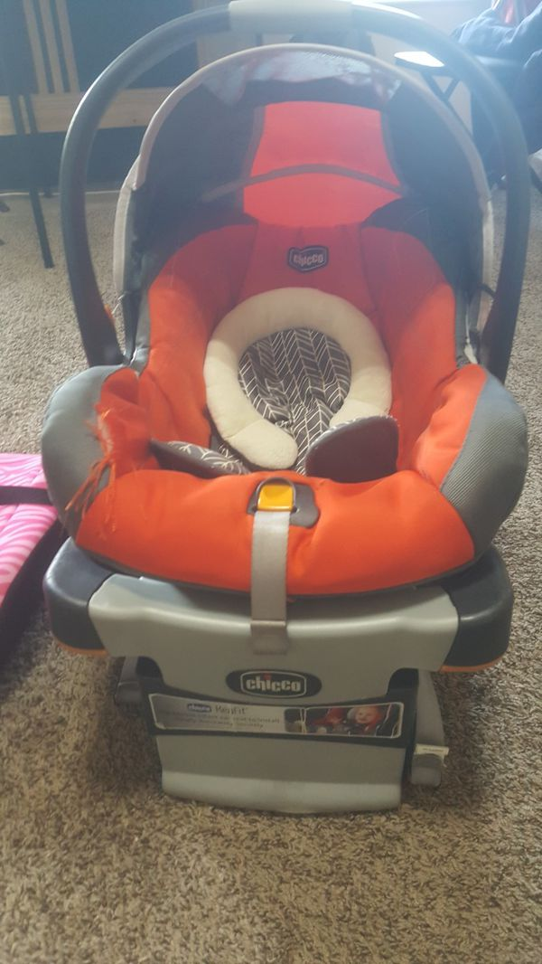 Chicco Infant Car Seat + Booster Seat