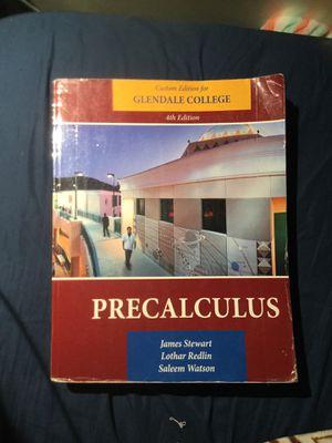 Precalculus Glendale College Custom 4th Edition for Sale in Glendale, CA