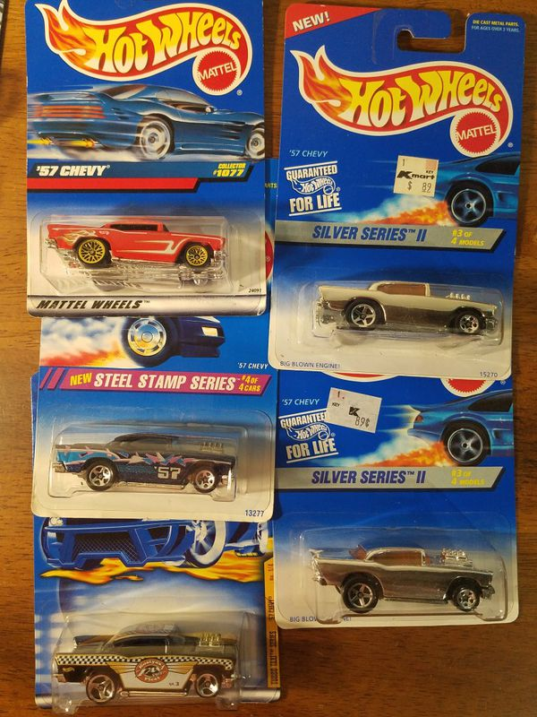 Hot Wheels '57 Chevy lot of 5