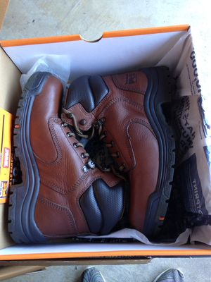 "Timberland Pro Women's Titan 6"" Work Boots 8.5 soft toe for Sale in San Francisco, CA"
