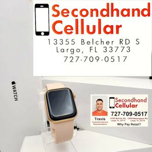 New in Box Apple Watch Series 6 40MM Gold GPS + LTE *As Little As $0 Down for Sale in Pinellas Park, FL