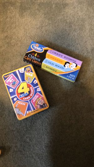 Kid's card games- brand new! for Sale in Hesperia, CA