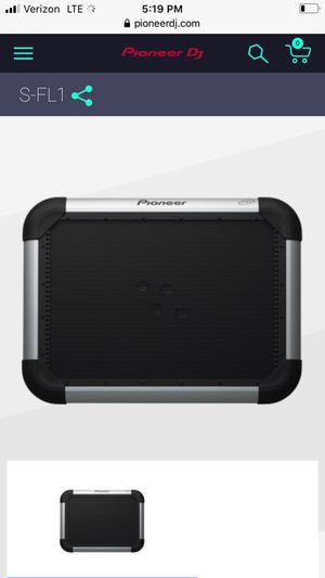 PIONEER S-FL1 PRO AUDIO SLIM PORTABLE FLAT PANEL SPEAKER FOR DJ/BANDS/PARTIES for Sale in Grayslake, IL