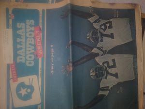DALLAS COWBOYS 1975 Ed Jones And Harvey Martin for Sale in Oklahoma City, OK