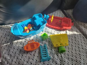 Elmo pirate ship with all pieces for Sale in Fall River, MA