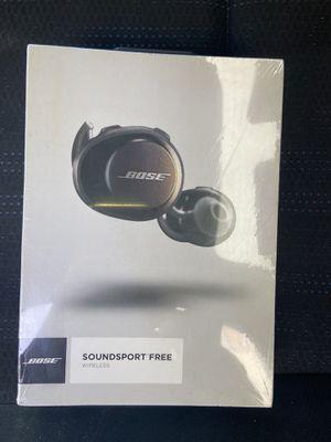 Bose SoundSport Free, True Wireless Earbuds, (Sweatproof Bluetooth for Sale in Whittier, CA