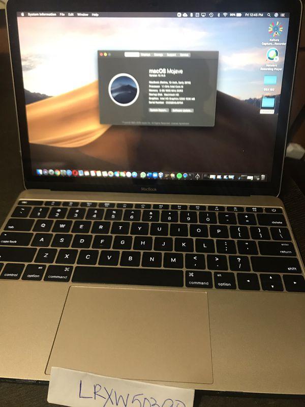 MacBook 12' Early 2015 256GB 8GB RAM