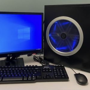 Gaming PC with Nvidia GeForce 9800 GT graphics card, 8GB RAM, Monitor/Keyboard/Mouse included! for Sale in Mesa, AZ