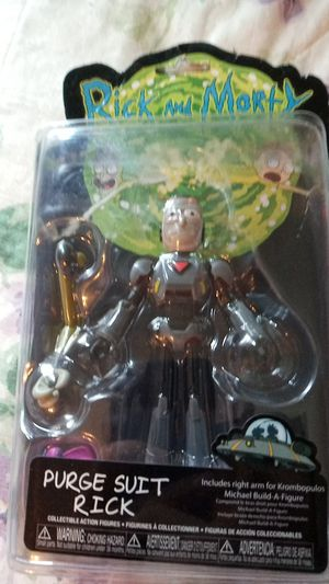 Rick and morty collectible action figure for Sale in New Britain, CT