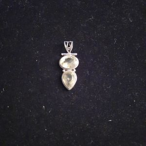 Sterling Silver Charm with Citrine Stone for Sale in Washington, DC