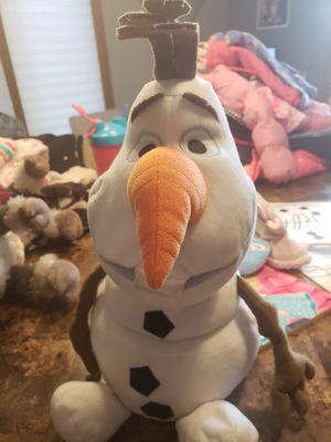 Disney frozen olaf stuffy stuffed animal plush toy for Sale in Oak Lawn, IL