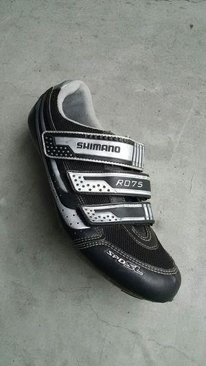 Shimano cycling shoes. Size 12.3 (EU 48). for Sale in Durham, NC