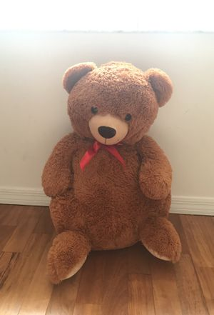 Big brown teddy bear for Sale in Parkland, FL