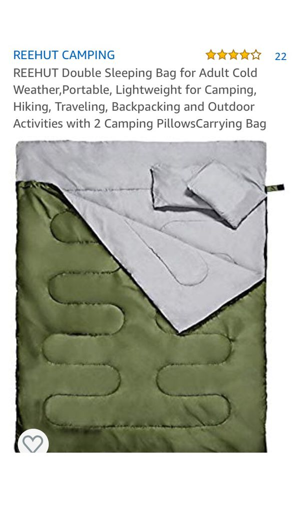 Rehire double sleeping bag