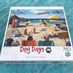 "NEW!!! 750 Piece Puzzle DOG DAYS ""RUFF SUMMER"" for Sale in El Camino Village, CA"