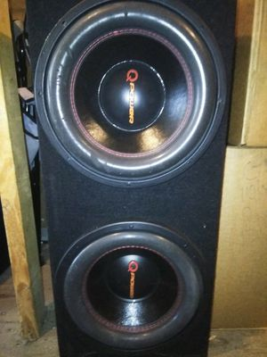 Q power 10 inch subs for Sale in Tampa, FL