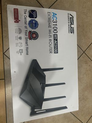 ASUS AC3100 RT-AC3100 Extreme Wi-Fi Router for Sale in Los Angeles, CA