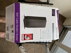 Netgear Modem Router for Sale in Costa Mesa, CA