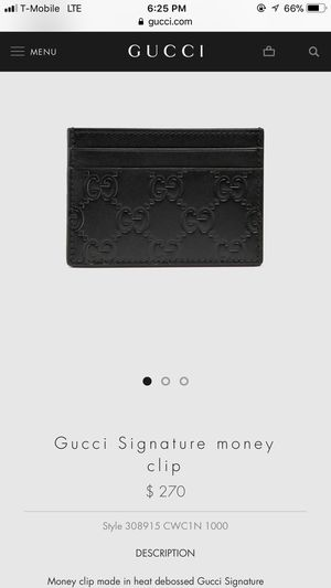 Gucci wallet for Sale in Dearborn Heights, MI