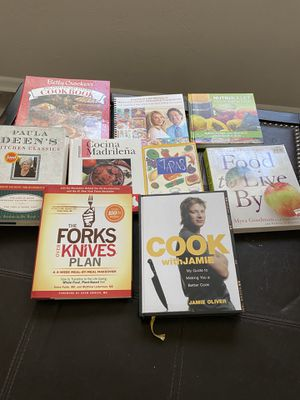 Cookbook collection for Sale in St. Petersburg, FL