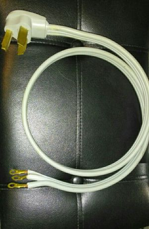POWER CORD FOR DRYER 3-WIRE 4' for Sale in Tallmadge, OH