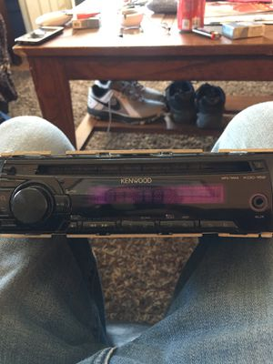 Kenwood deck with aux!!!! for Sale in Denver, CO