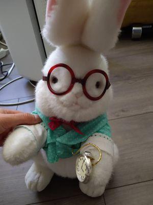 Vintage Alice in wonderland rabbit plush for Sale in Bellevue, WA
