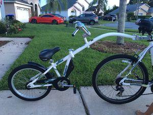 Kids Ride Behind bike trailer for Sale in Orlando, FL