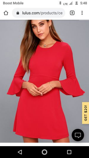 Almost Famous Red Elegant Dress for Sale in Chicago, IL