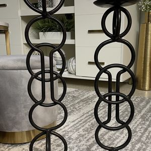 Tall candle holder set for Sale in New York, NY