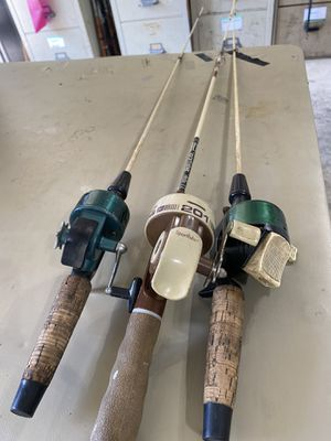 Vintage fishing rods for Sale in Swedesboro, NJ