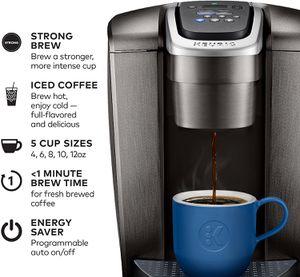 Keurig K-Elite Coffee Maker, Single Serve K-Cup Pod Coffee Brewer for Sale in Miami, FL