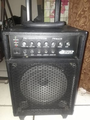 PYLE PRO AUDIO PA SYSTEM for Sale in Sunrise, FL