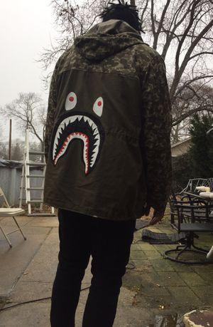 Nike BAPE jacket for Sale in Monroe Township, NJ