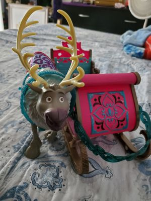 Disney frozen the sleigh and the moose for Sale in Land O Lakes, FL