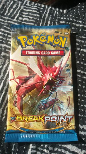 Pokemon XY:breakpoint booster packs for Sale in Tulare, CA
