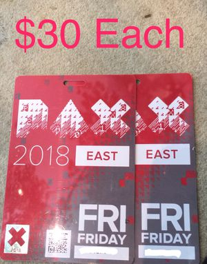 PAX East - Friday for Sale in Boston, MA