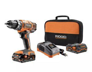 Ridgid R860052K 18-Volt Compact Drill/Driver Kit for Sale in St. Petersburg, FL